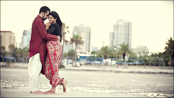 indian engagement photographer